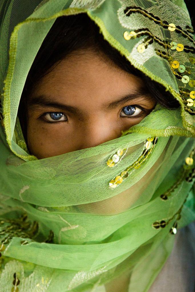 An Phuoc en écharpe verte photo de Réhahn - l'ethnie Cham au Vietnam