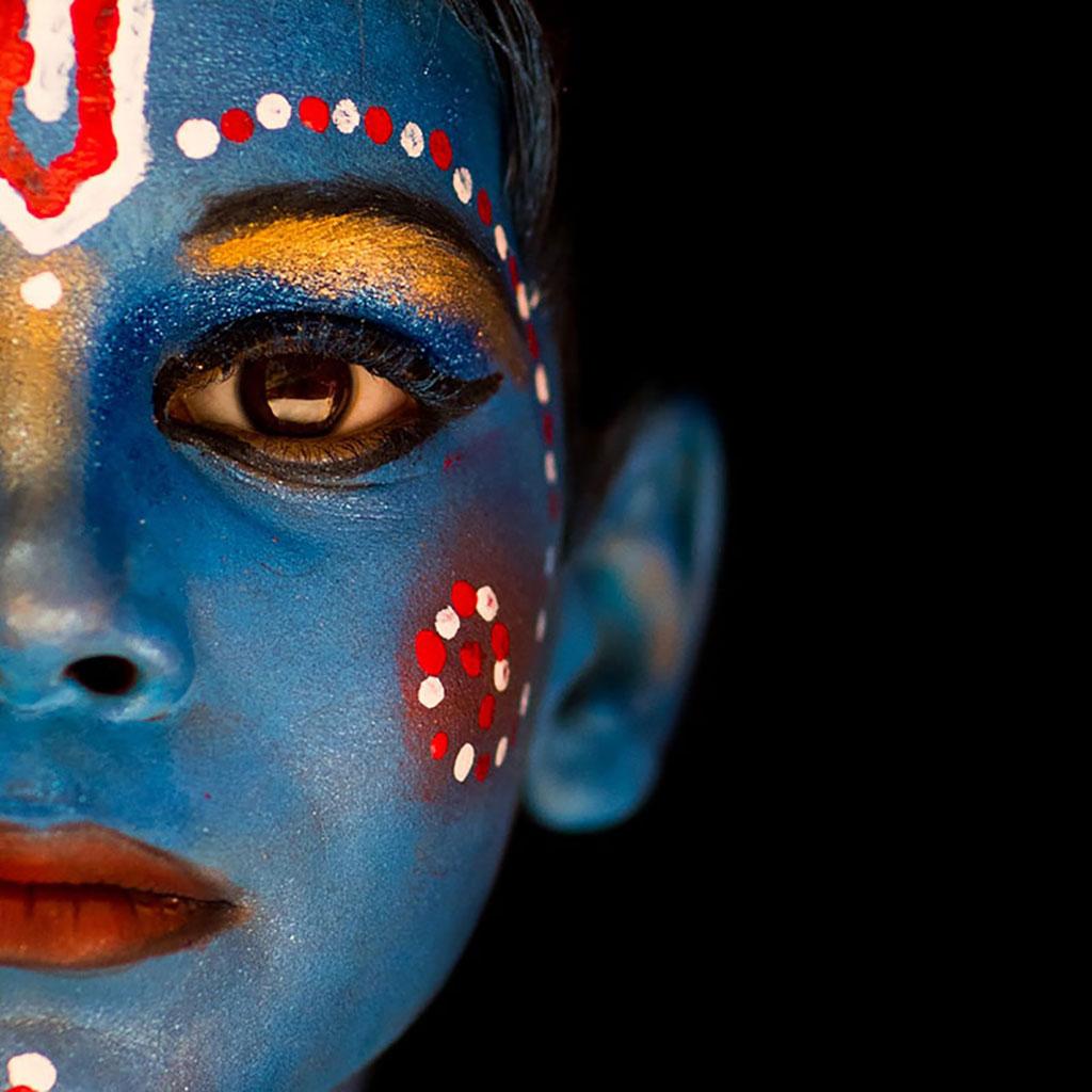 Krishna III portraits photo by Réhahn in India