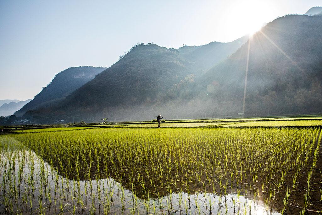 Morning in Mai Chau photo by Réhahn Vietnam