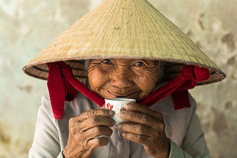 Portrait de Madame Ha à Hoi An (Vietnam)